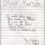 Blair Karsch – By: Chelsea